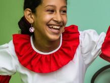 Child dancer
